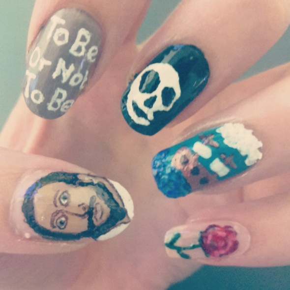 Shakespeare Nail Art