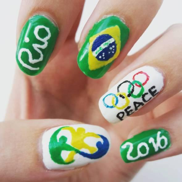Rio Olympics Nail Art