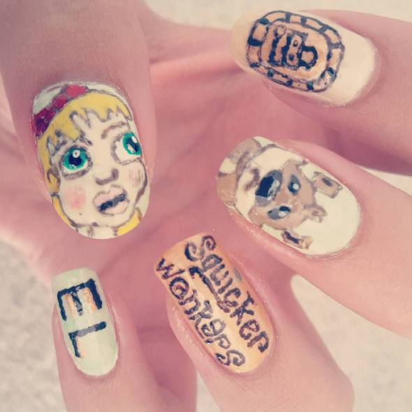 The Squickerwonkers Nail Art